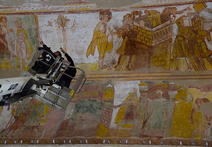 Projection du Triomphe des Images, il y a mille ans
